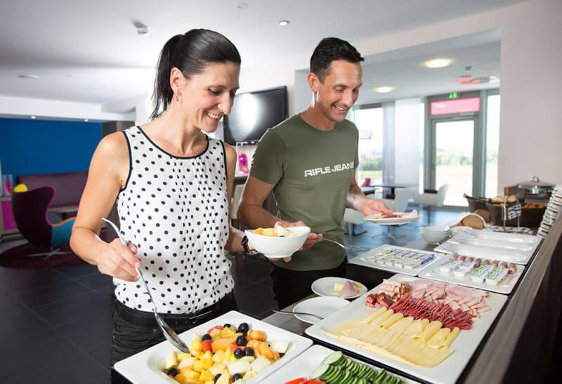 Frühstück im smartino Hotel: frisch und lecker