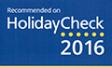 Auszeichnung HolidayCheck 2016